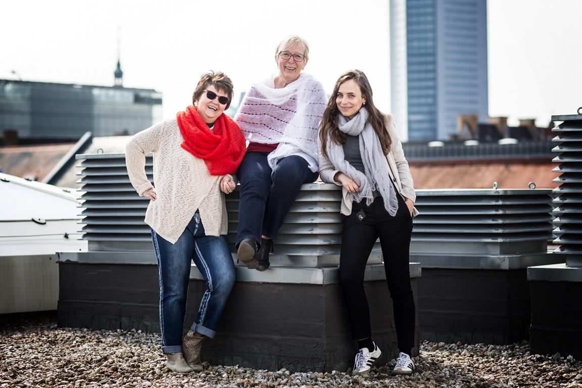 Anne Schwerin und das Team von ALLE HAND ARBEIT