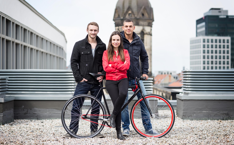 Anne Schwerin und das Team von Hikari Bike