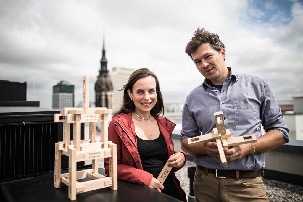 Anne Schwerin und Sebastian Kalies