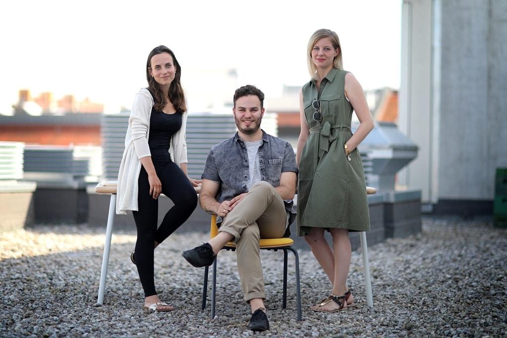 Anne Schwerin interviewt das Team von Mormor für Startklar
